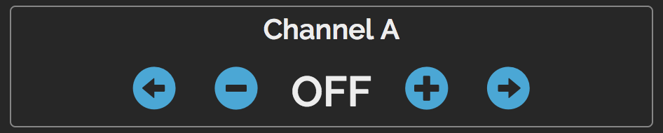 Channel level controls
